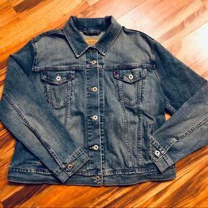 Women's Levi Strauss Denim Trucker Jacket